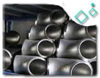 1-1/2 x 1-1/2 x 1 in. Weld Schedule 10 321 Stainless Steel Reducing Tee
