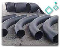 Black Steel 5D Pipe Bend