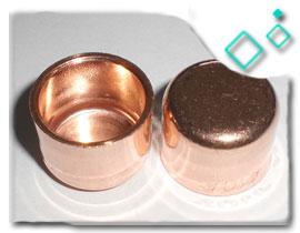 90/10 Copper Nickel End Cap
