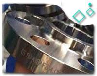A182 F304 Socket Welded Flange, PN50, DN25, THK SCH 40, RF End
