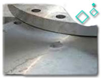ANSI B16.47A Stainless Steel FF Blind Flange