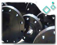 ANSI B16.5 FORGED STEEL BLIND FLANGE, ASTM A105, DN300, PN50