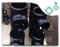ANSI B16.9 Equal Tee, DN150, ASTM A420 WPL6, SCH XXS