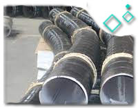A234 WP22 Cl1 5D Pipe Bend