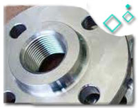 ASME B1.20.1 Class 300 Stainless Steel 304 Threaded Flanges