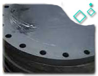 ASTM A182 Alloy Steel Blind Flange, PN20, RF
