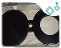ASTM A182 F11 Cl.2 Spectacle Blind Flanges