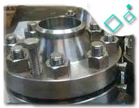 ASTM A182 F316 Stainless Steel Orifice Flange, DN80, PN50, RF