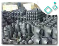 ASTM A234 WP91 Alloy Steel BW Lateral Tee