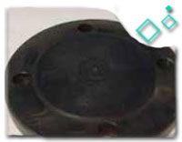 ASTM A350 Blind Flange, 4 Inch, Class 300, ANSI B16.5