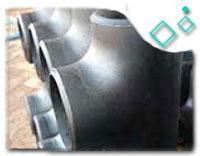 ASTM A420 WPL6 Reducing Tee, 24 X 6 Inch, SCH 40