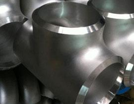 ASTM A815 UNS S32750 Tee