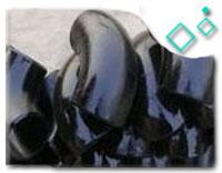 ASTM A860 WPHY 65 12 inch SCH80 45 LR Elbow