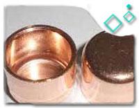 ASTM B171 UNS C70600 Pipe Cap
