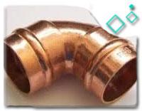 ASTM B62 Copper Short Radius elbow