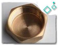brass pipe end cap