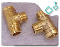 brass threaded tee