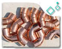 C12200 copper Long Radius Elbow