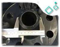 MSS SP-44 Carbon Steel ASME SA694 F60 Pipe Flange
