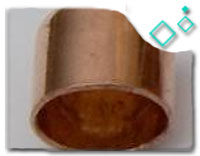 copper gas pipe end cap