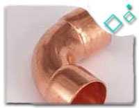 Copper Nickel Alloy 90/10 Long Radius Elbow