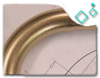 ASTM B366 Cupro Nickel 90/10 Hot Induction Bend