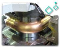 Copper Nickel WERKSTOFF NR. 2.0872 1.5D Pipe Bend
