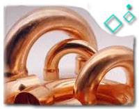 copper nickel 2D  Pipe Bend