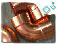 ASTM B366 Cupro Nickel 90/10 Miter Bend