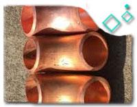 Cu-Ni 90/10 welded elbows