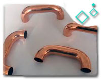 90/10 copper nickel Elbow 180deg. LR