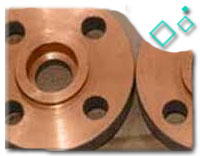 Class 150 ASTM B151 UNS C70600 Forged Flanges