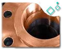 Class 2500 copper nickel 70/30 Flanges