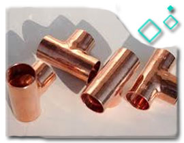 Copper Reducing Tee