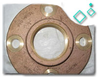 Copper Threaded Flange
