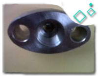 DIN 2561 OVAL FLANGE WITH NECK THREADED PN6