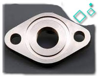 DIN 2561 Stainless Steel Pn 10 Oval Flange with Neck