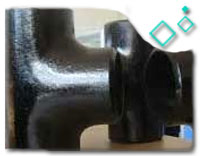 DN250 Equal Tee, ASTM A234 WPB, ANSI B16.9, SCH STD