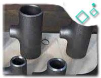 DN50 SCH40 90DEG B16.9 ASME A234 WP91 BW Reducing Tee