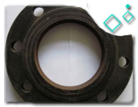 Ductile Iron Pipe Threaded Flange