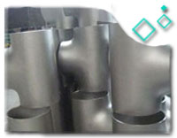 Equal Tee 8 INCH SCH40 BW Seamless ASME B16.9 A815 S32205