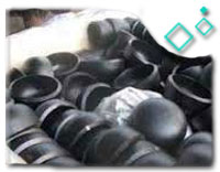 Galvanized Carbon Steel End Cap