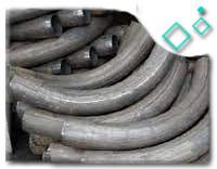 E235 Material long radius bend