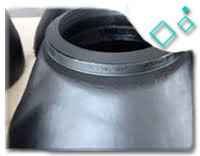 Black painting A234 WPB Reducer Elbow