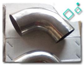 AISI 304L SS long radius bend