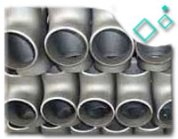 Stainless Steel Equal Tee, SS316, SS304