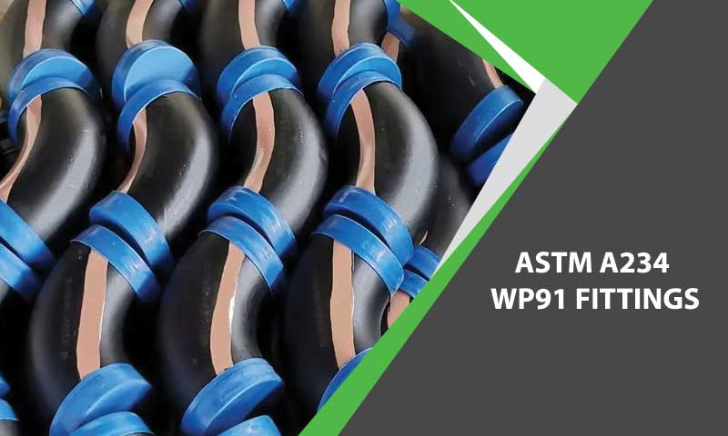 ASTM A234 WP91 fittings